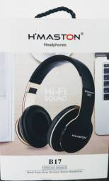 Headphone H'MASTON wireless.        Aceito cartão