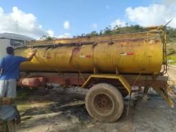 Tanque Pipa - 8.000 litros ( completo) Água
