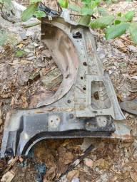 Caixa de roda GM S10 lado esquerdo