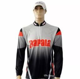 Camisa Rapala com proteção UV 30+ Manga Longa - NOVA - varios tamanhos
