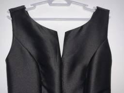 Vestido para festas na cor preta