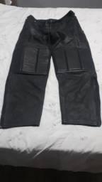 Calça motoqueiro couro
