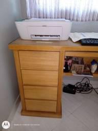 Móvel para escritório, mesa de estudos, aparedor