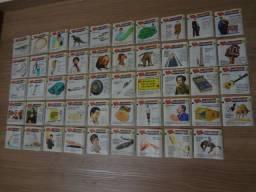Coleção figurinhas antigas da ping pong - Records do Guiness