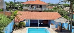 Locação Temporada Casa com Piscina  4 quartos - Guaratuba - Ref - 1154