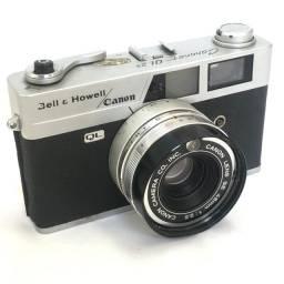 Câmera Analógica Canon Canonet QL25 anos 70