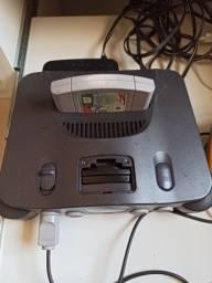 Vendo Nintendo 64 com jogo