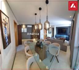 Condomínio Harmonia, apartamento andar alto, 2 vagas, todo decorado. Aceita financiamento!