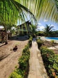 Vende-se casa na beira mar da praia do sossego em Itamaracá, totalmente mobiliada.