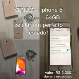 Iphone 8 - Rose - 64GB