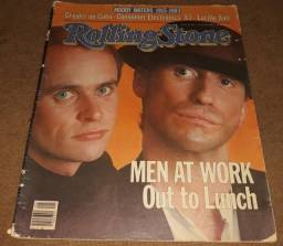 Revista Rolling Stone 1983 - Men At Work