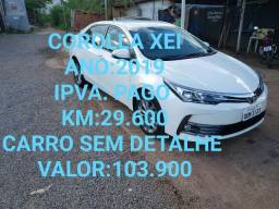 Corolla Xei 2.0 18/19 Flex 16 v. - Leia o Anúncio!
