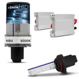 Kit Xenon Hb4 8000k Completo