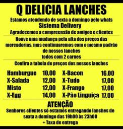 Lanches delivery