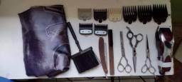 Máquina e matéria de barbeiro