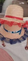 Vende se chapéu  infantil menina tenho 7 unidades