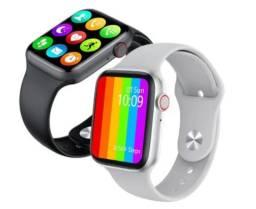 Smartwatch iwo w46 original pronta entrega troca foto IOS e Android + brinda