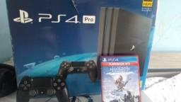 Título do anúncio: Vendo PS4 pro impecável