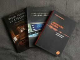 Título do anúncio: Livros Musicais Novos
