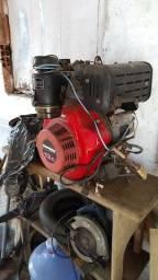 Motor Branco 13.0hp diesel Partida Elétrica