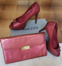 Título do anúncio: Kit sapato e bolsa Arezzo