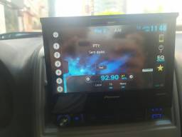 dvd player automotivo cd/dvd/ bluetooth retrátil Pionner mixtrax