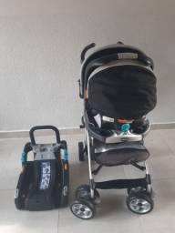 Vendo Carrinho e Bebê Conforto Chicco Trevi