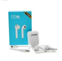 Fone de ouvido,sem fio Bluetooth Touch I11 5.0