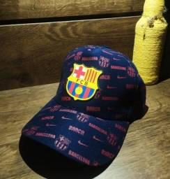 Boné time europeu Fcb Barcelona