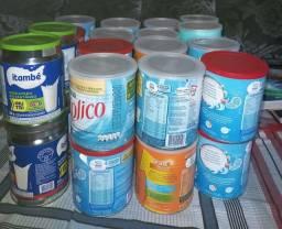 Título do anúncio: Latas de leite em pó vazias