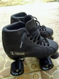 Patins Preto X-Trike
