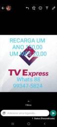 Recarga do aplicativo tvexpress