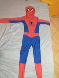 Título do anúncio: Vendo ou alugo; Roupa de homem aranha adulta e infantil