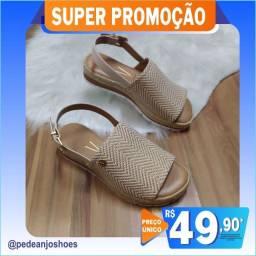 Sandalia flatform Moleca (novo)
