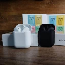 Promoção Fone de Ouvido i12 Bluetooth
