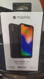 Capa carregador iPhone X mophie juice pack original