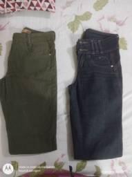 Calça para vender em brechó masculina e feminina