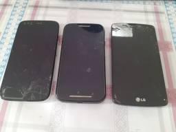 Celular MOTO G1, MOTO E, LG G7 LITE - USADOS