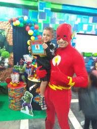 Personagem vivo Super The Flash