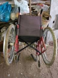 Cadeira de roda de alumínio