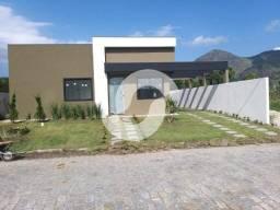 Casa com 3 dormitórios à venda, 90 m² por R$ 390.000 - Ubatiba - Maricá/RJ