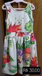 Vestidos infantis tamanho 6