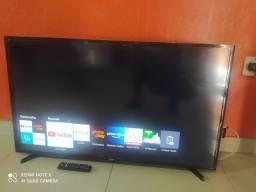 Título do anúncio: Tv 43 smart Samsung semi nova
