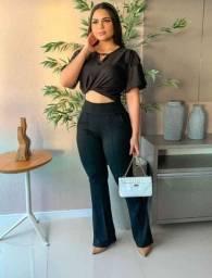 Título do anúncio: Calça preta crepe dior