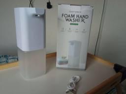 Dispenser automático de espuma (recarregável, funciona com sabonete líquido)