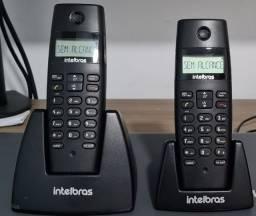 Telefone sem fio Intelbras TS 40 C preto