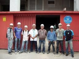 Equipe de eletricista para obras