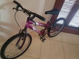 Bicicleta infantil feminina aro 20