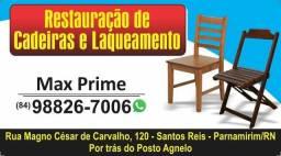 Cadeiras reforma e pintura de móveis