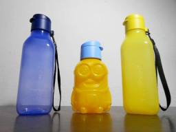 Kit Tupperware - Eco Tupper quadrada 500ml + Eco Kids Garrafa Minions 350ml